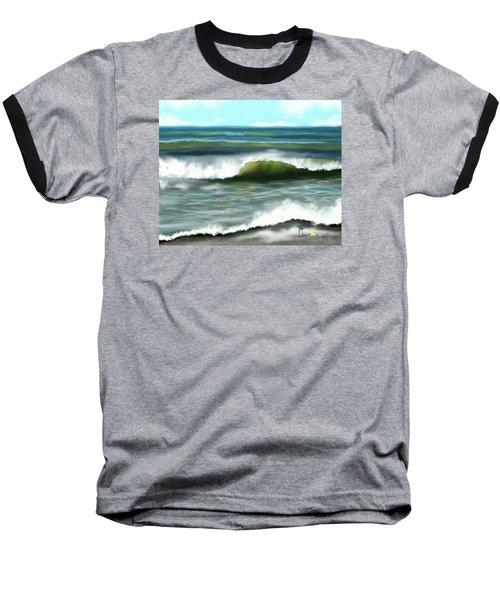 Perfect Day Baseball T-Shirt by Dawn Harrell