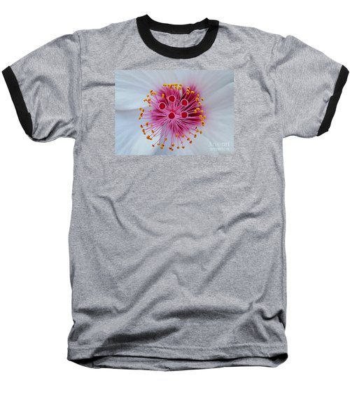 Perfect Flower Pestle Baseball T-Shirt by Jasna Gopic