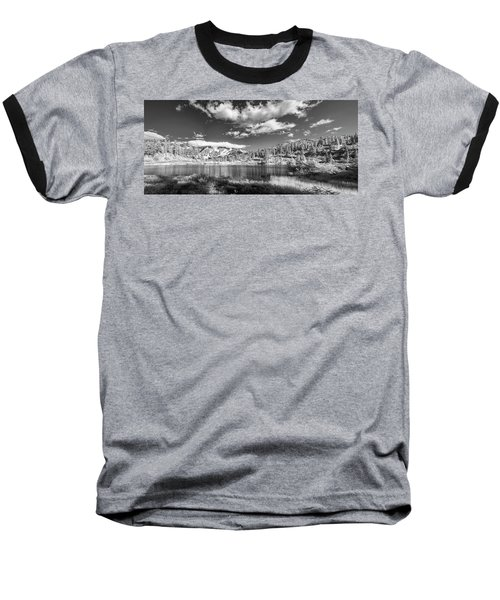 Baseball T-Shirt featuring the photograph Perfect Lake At Mount Baker by Jon Glaser