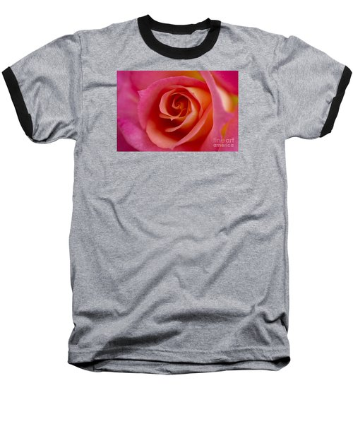 Perfect Moment Rose Baseball T-Shirt by Jeanette French
