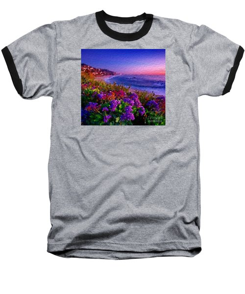 Baseball T-Shirt featuring the digital art Perfect Sunset by Anthony Fishburne