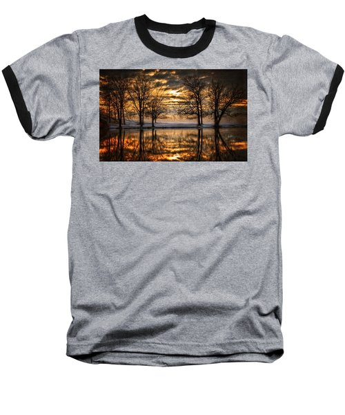 Perfect Sunset Baseball T-Shirt