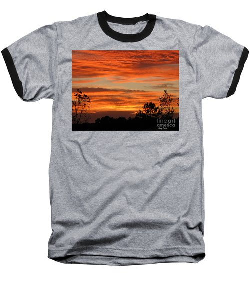 Baseball T-Shirt featuring the photograph Perfection by Greg Patzer