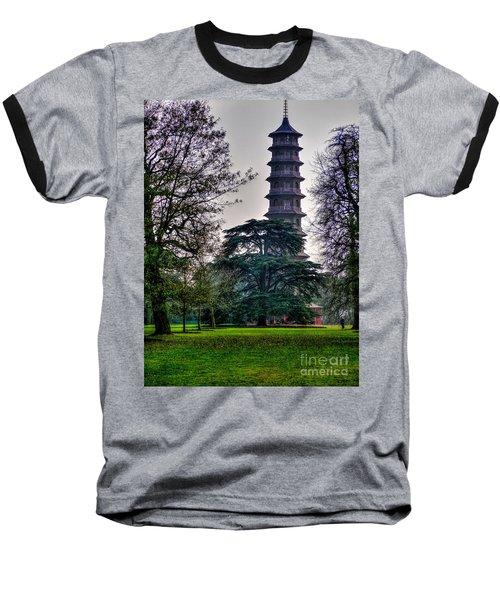 Pergoda Kew Gardens Baseball T-Shirt