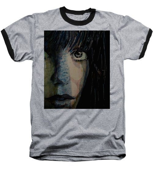 Baseball T-Shirt featuring the painting Periode Bleue by Paul Lovering