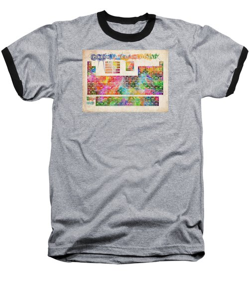 Periodic Table Of The Elements 10 Baseball T-Shirt