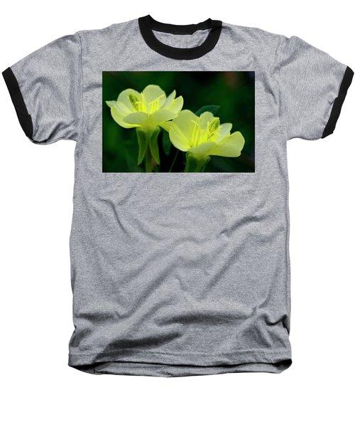Perky Primroses Baseball T-Shirt