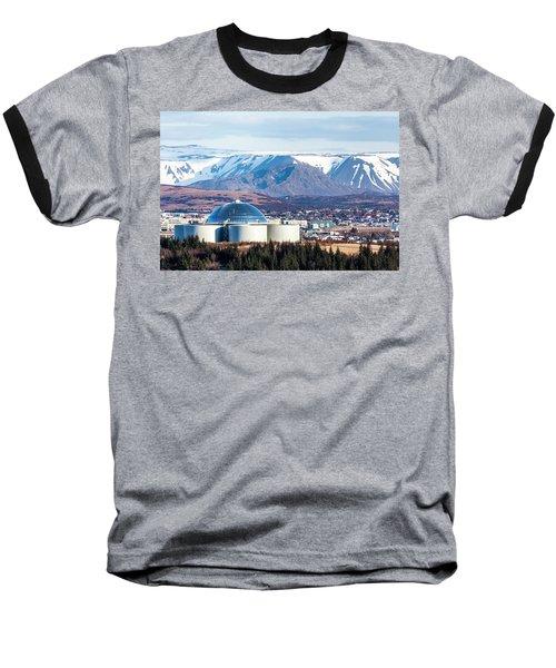 Perlan Baseball T-Shirt by Wade Courtney