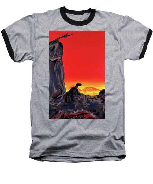 Permian Outpost Baseball T-Shirt by Ryan Demaree