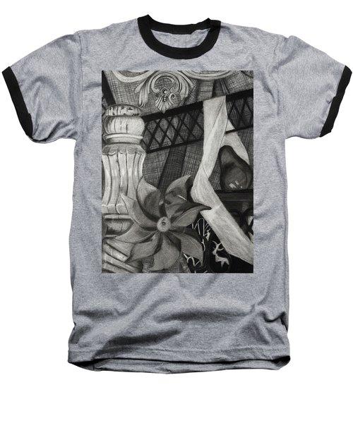 Perpeptual Pinwheel Baseball T-Shirt