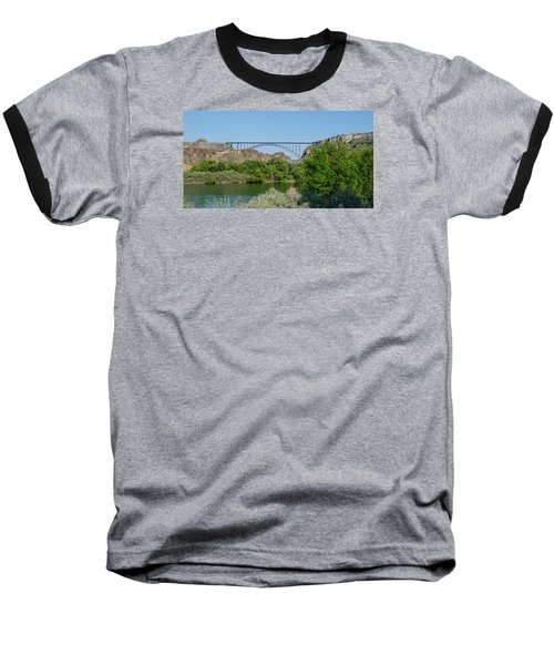 Perrine Bridge At Twin Falls Baseball T-Shirt