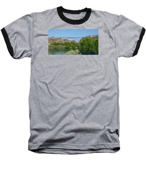 Perrine Bridge At Twin Falls Baseball T-Shirt
