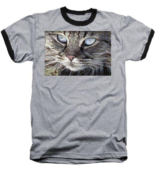 Perry The Persian Cat Baseball T-Shirt