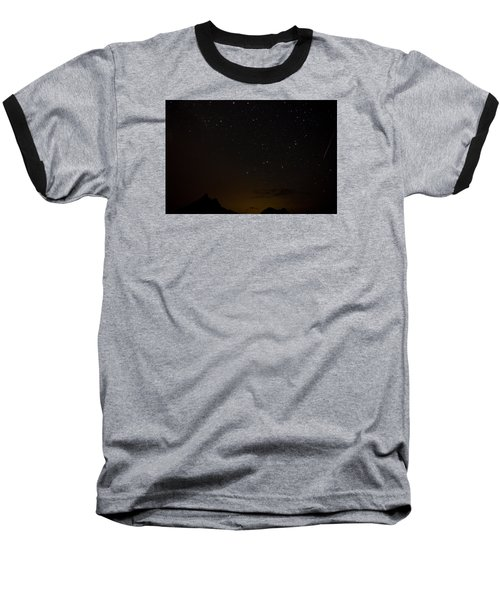 Perseid Meteor Shower Baseball T-Shirt