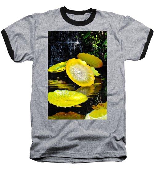 Persian Lily Pads Baseball T-Shirt