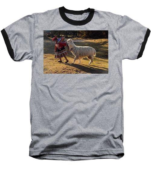 Peru Baseball T-Shirt by Will Burlingham