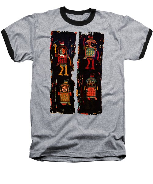 Baseball T-Shirt featuring the digital art Peruvian Fab Art by Asok Mukhopadhyay