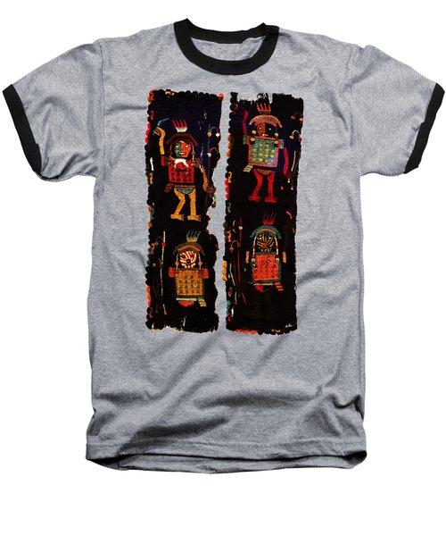 Peruvian Fab Art Baseball T-Shirt