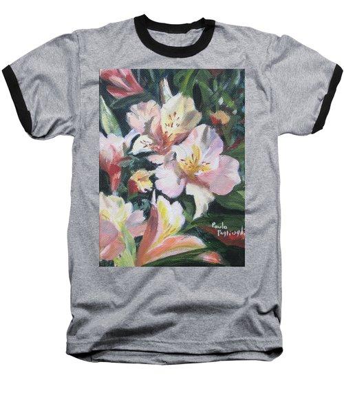 Peruvian Lily Baseball T-Shirt