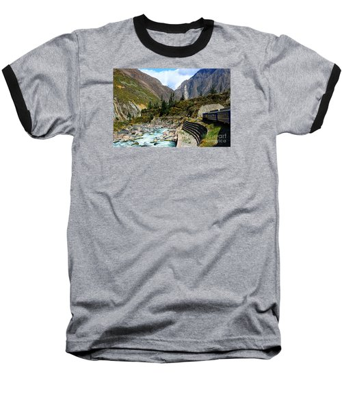 Peruvian Railway Baseball T-Shirt