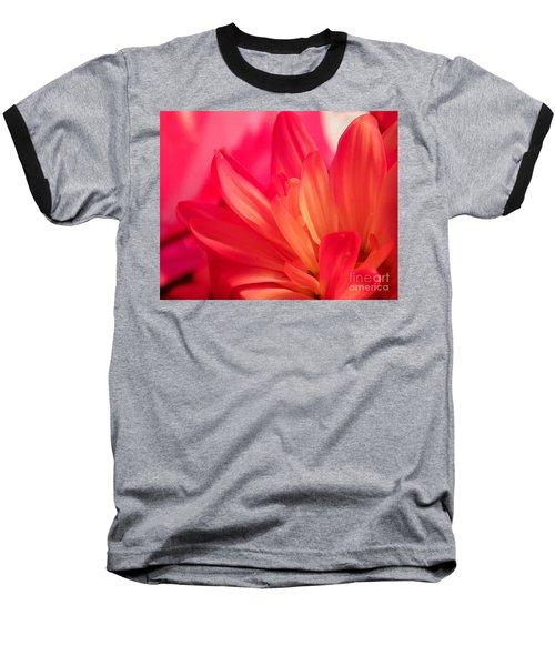 Petal Abstract Baseball T-Shirt