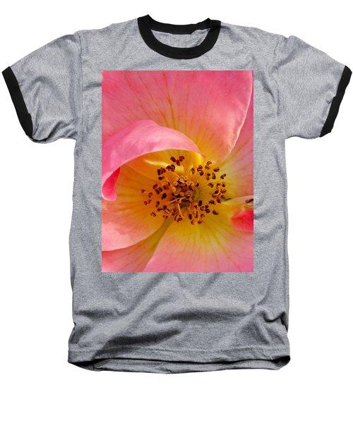 Baseball T-Shirt featuring the photograph Petal Pink by Geri Glavis