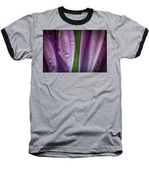 Petals And Drops Baseball T-Shirt