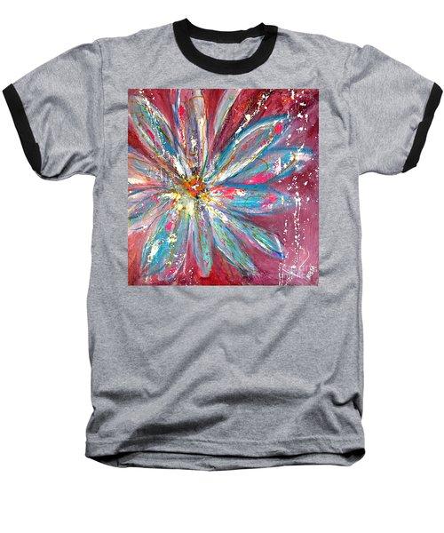 Petals Exploding Baseball T-Shirt