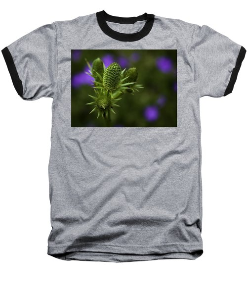 Petals Lost Baseball T-Shirt by Jason Moynihan