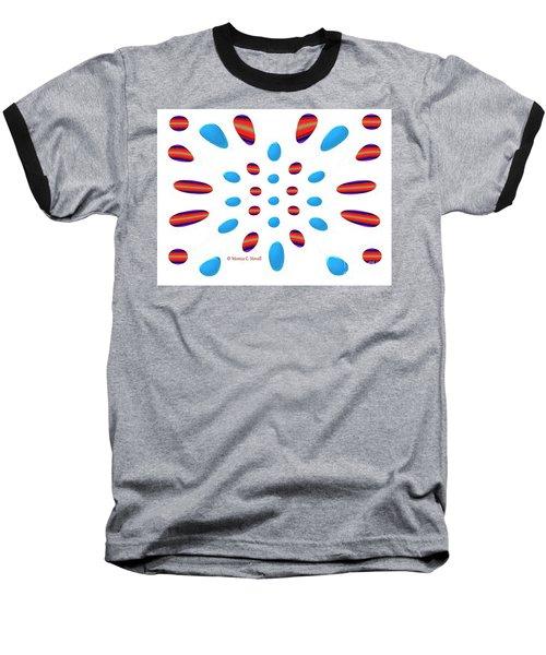 Petals N Dots P5 Baseball T-Shirt