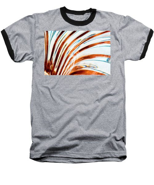 Baseball T-Shirt featuring the photograph Petals Of Glass by Wendy Wilton