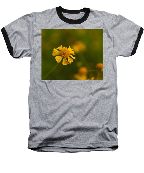 Petals Of Nature Baseball T-Shirt by Christopher L Thomley