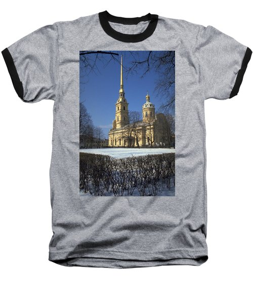Peter And Paul Cathedral Baseball T-Shirt