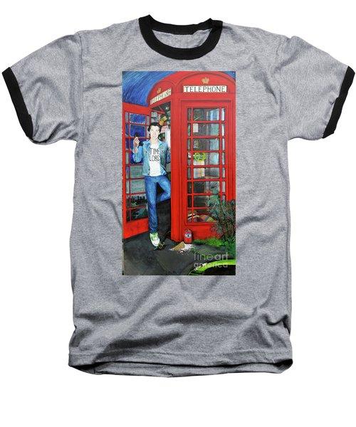 Peter Capaldi Dr Who Putting You Through Baseball T-Shirt