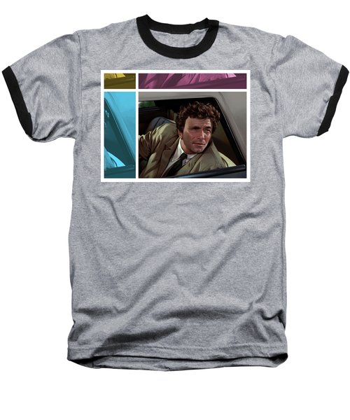 Peter Falk 1973  Baseball T-Shirt