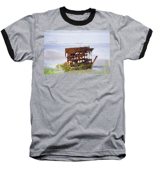 Peter Iredale Baseball T-Shirt by Angi Parks