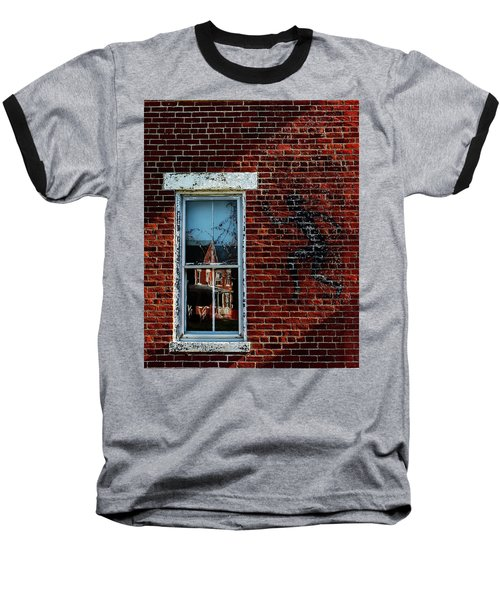 Peter Pan's Shadow Baseball T-Shirt