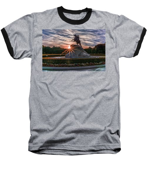 Peter Rides At Dawn Baseball T-Shirt
