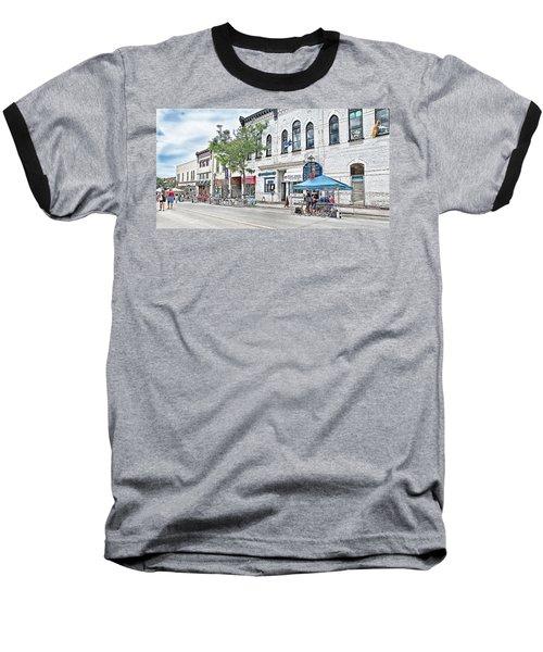Peter Street Art Corridor Baseball T-Shirt