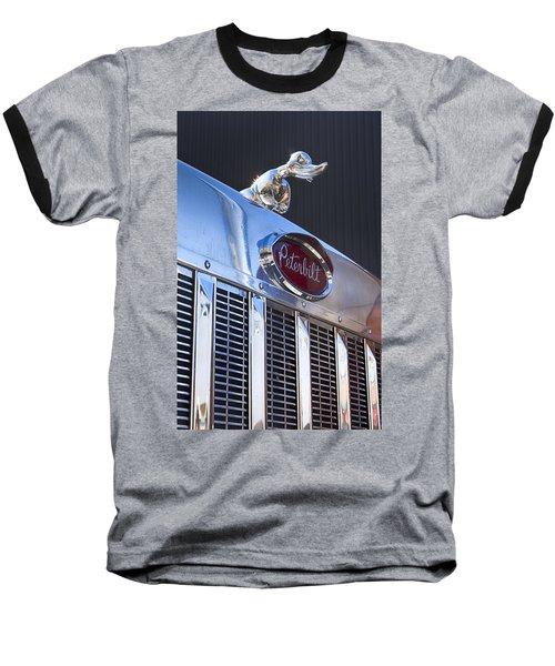 Peterbilt Angry Duck Baseball T-Shirt by Theresa Tahara