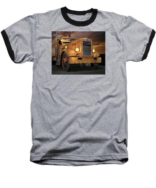 Peterbilt Ol Yeller Baseball T-Shirt