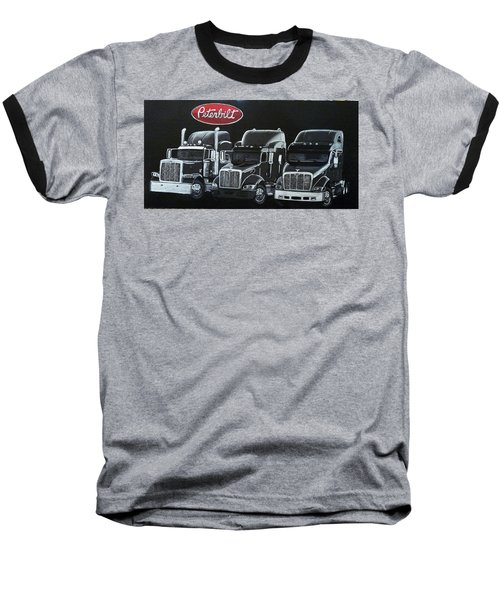 Peterbilt Trucks Baseball T-Shirt