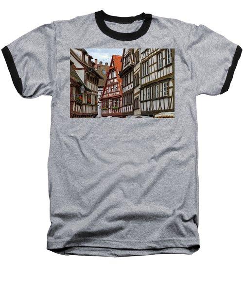 Petite France Houses, Strasbourg Baseball T-Shirt