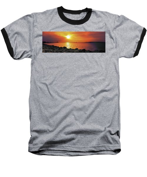 Petoskey Sunset Baseball T-Shirt