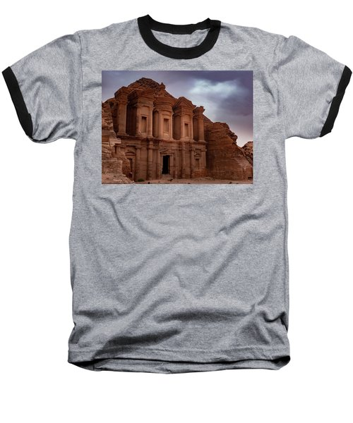 Petra's Monastery Baseball T-Shirt