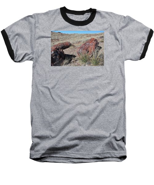 Baseball T-Shirt featuring the photograph Petrified Afternoon by Gary Kaylor