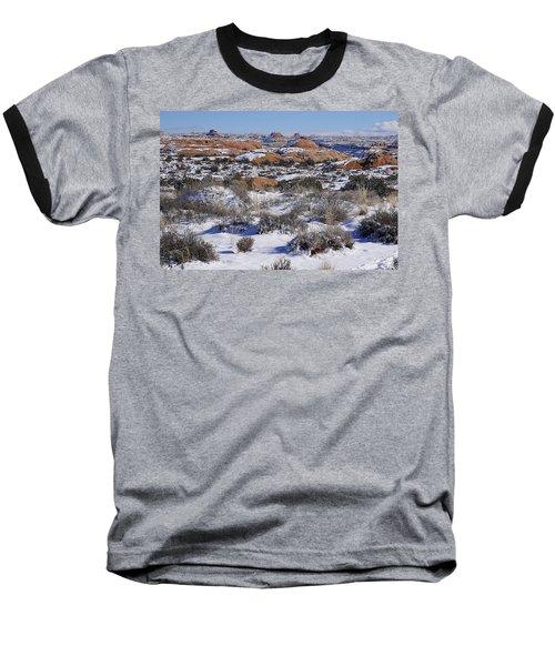 Petrified Dunes At Arches National Park Baseball T-Shirt
