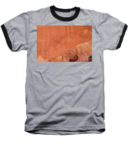 Petroglyphs In Capital Reef Baseball T-Shirt