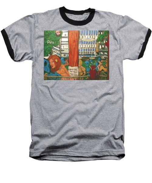 Pets Baseball T-Shirt