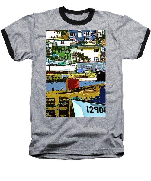 Petty Harbor Baseball T-Shirt